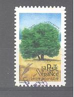 France Autoadhésif Oblitéré (Les Arbres : Charme) (cachet Rond) - France