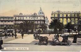 ** Lote De 2 Postales ** ARGENTINA Argentine - BUENOS AIRES Plaza De Mayo - Jolies Bonitas CPA AMERIQUE SUD Sudamerica - Argentina