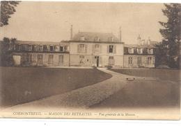 CORMONTREUIL - MAISON DES RETRAITES . VUE GENERALE DE LA MAISON . CARTE NON ECRITE - Autres Communes