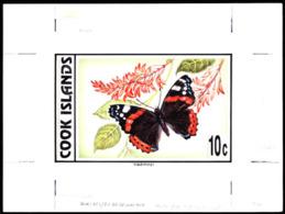 COOK ISLANDS (1997) Red Admiral (Vanessa Atalanta). Original Artwork By Julian Vasarhelyi. Scott No 1216. - Cook