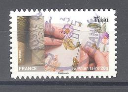 France Autoadhésif Oblitéré N°1073 (L'art Et La Matière) (cachet Rond) - Usati