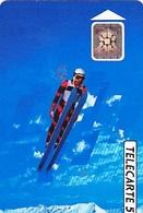 FRANCE  Télécarte   XVIème J.O. D' Hiver  Saut à Ski    SC4 De 50 Unités De 08.1991 Tirage 4k Ex. - Jeux Olympiques