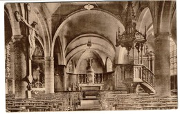 Mont Sur Marchienne - Intérieur De L'Eglise - Circulée - Edit. Libr. Léon Vanderus-Dethier - 2 Scans - Charleroi