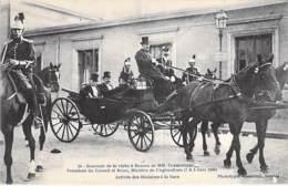 EVENEMENT Event POLITIQUE - 35 AGEN (1908) Visite M. CLEMENCEAU Président Du Conseil Et RUAU Ministre Agriculture - CPA - Ereignisse