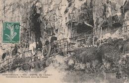 76 Dieppe. Les Gobes, Habitations De Pêcheurs De Pêcheurs Dans Les Falaises - Dieppe