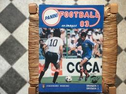 ALBUM PANINI FOOTBALL 83  Division 1 Division 2 - Edizione Italiana