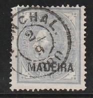 Madère - N° 33 (A) Obl (1880) 25 R Bleu Gris - Madeira