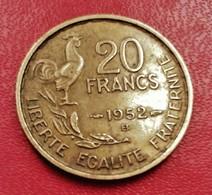 FRANCE 20 FRANCS Guiraud 1952 B  N° 201 D - France