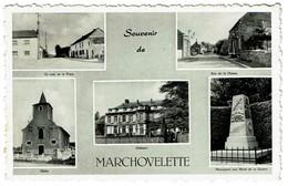 Souvenir De Marchovelette - Multi-vues - Circulée - Edit. Magasin Exella - 2 Scans - Fernelmont