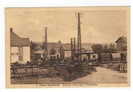 1. Sourbrodt Gare  Arrivée D'un Train D'Artillerie - Weismes