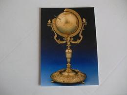 Postcard Postal United Kingdom London National Maritime Museum Globe Dial - Musées