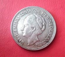 PAYS BAS Wilhelmina 1/2 GULDEN 1930 (ARGENT)  N° 208 D - 1/2 Gulden
