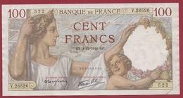 "100 Francs ""Sully"" Du 04/12/1941.GF.--F/TTB+---ALPH-V.26526---AUCUN TROU D EPINGLE - 1871-1952 Circulated During XXth"