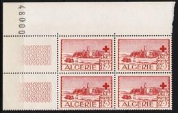 Année 1952-N°301 Neufs**MNH : Au Profit Des Oeuvres De La Croix-Rouge  - Bloc De 4  (g2) - Algeria (1924-1962)