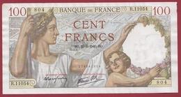 "100 Francs ""Sully"" Du 23/05/1940.BO.--F/TTB+---ALPH-R.11054---AUCUN TROU D EPINGLE - 1871-1952 Circulated During XXth"