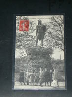 SAINT  DENIS    1910 /  VUE  STATUE VERCINGETORIX      ...   / CIRC /  EDITION - Saint Denis