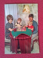 POSTAL POST CARD AJEDREZ CHESS Échecs SCHACH XADREZ GAME PARTIDA FAMILY PLAYING FAMILIA JUGANDO LA FAMILLE MATRIOMONIO.. - Postales
