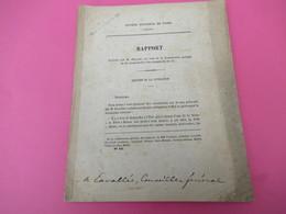 Rapport/C.M.de Paris/NAVIGATION/Porter à 3 Métres Le Tirant D'eau De La Seine De Paris à Rouen /DELIGNY/1876       MDP87 - Libri, Riviste, Fumetti