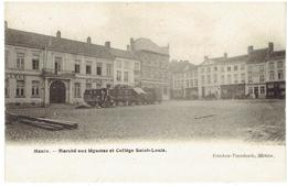 MENIN - Marché Aux Légumes Et Collège Saint-Louis - Menen