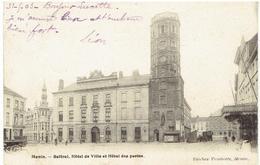 MENIN - Beffroi, Hôtel De Ville Et Hôtel Des Postes - Menen