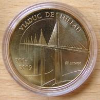 Médaille Touristique VIADUC DE MILLAU 2004 2009 - Monnaie De Paris
