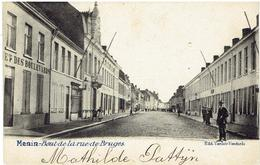 MENIN - Bout De La Rue De Bruges - Menen