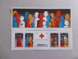 FRANCE 2013  F4819  NOYT 4819/4823    BLOC CROIX ROUGE - Mint/Hinged