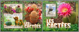 TOGO 2019 MNH Cactus Kakteen M/S+S/S - OFFICIAL ISSUE - DH1926 - Cactusses