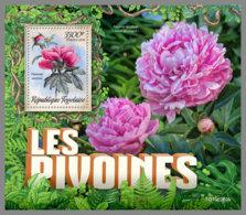 TOGO 2019 MNH Peonies Pfingstrosen Pivoines S/S - OFFICIAL ISSUE - DH1926 - Végétaux