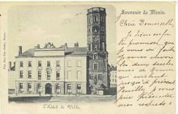 Souvenir De MENIN - L' Hôtel De Ville - Menen