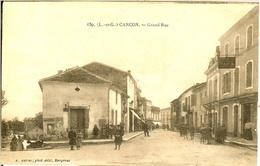 CANCON - LOT De 2 CPA - - France