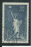 FRANCE: Obl., N° YT 352, Bleu-gris, TB - Usados