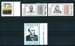 Venezuela Nº 1107-1108/9-1110 Nuevo - Venezuela