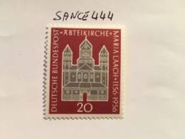 Germany Maria Laach Abbey Mnh 1956  #ab - [7] Federal Republic