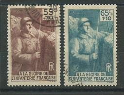 FRANCE: Obl., N° YT 386 Et 387, TB - Used Stamps