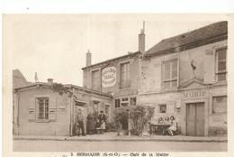 CPA ,D.91, N°3, Sermaise , Café De La Marie , Animée  Ed. M. Aube - Autres Communes