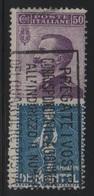 1924-25 Francobolli Regno Pubblicitari 50 C. De Montel - 1900-44 Vittorio Emanuele III