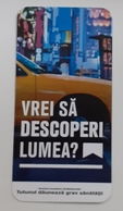 ROMANIA-CIGARETTES  CARD,NOT GOOD SHAPE,0.81 X 0.40CM - Tabac (objets Liés)
