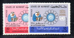 APR1595 - KUWAIT 1968 , Yvert N. 403/404  ***  MNH - Kuwait