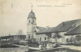 SAINT-PIERRE-place Et église - Autres Communes