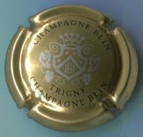 CAPSULE-CHAMPAGNE BLIN R. & FILS N°23 Or Argent & Noir - Other