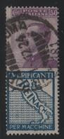 1924-25 Francobolli Regno Pubblicitari 50 C. Reinach - 1900-44 Vittorio Emanuele III