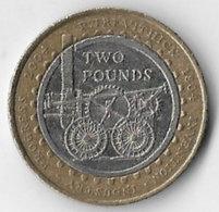 United Kingdom 2004 £2 Richard Trevithick Commemorative [C069/1D] - 1971-… : Decimal Coins