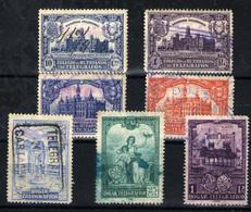 España Huérfanos De Telégrafos  Nº 1/2, 4/5, 10/12. Año 1927/37 - Charity