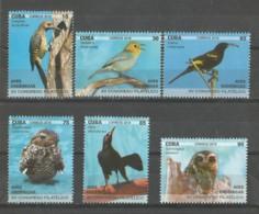 Cuba 2018 Endemic Birds (Owls) XV Philatelic Summit 6v + S/S MNH - Búhos, Lechuza