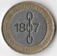 United Kingdom 2007 £2 Emancipation Commemorative (D) [C127/1D] - 1971-… : Decimal Coins