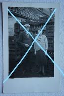 Photo GODARVILLE Trazegnies Rue De L'Espinette Dépôt De Bière Brasserie ? Café ? Estaminet ? Circa 1930 Hainaut - Lieux