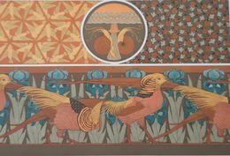 M.PILLARD VERNEUIL 1913 L'ANIMAL DANS LA DECORATION LITHOGRAPHIE ESCARGOT FAISAN COCCINELLE IRIS LITHOGRAPH ART NOUVEAU - Lithographies