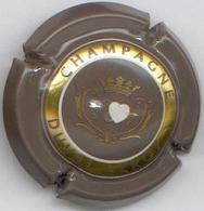 CAPSULE-CHAMPAGNE DUVAL LEROY N°41 Gris Foncé Or & Blanc Verso Gris - Duval-Leroy