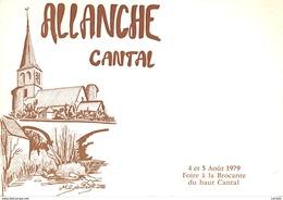 15-ALLANCHE-FOIRE A LA BROCANTE-N°384-A/0279 - Allanche